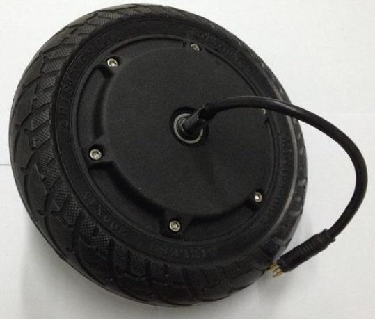 24V Radnabenmotor mit Hohlkammerreifen