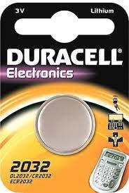 Knopfzelle CR2032 Duracell 3V