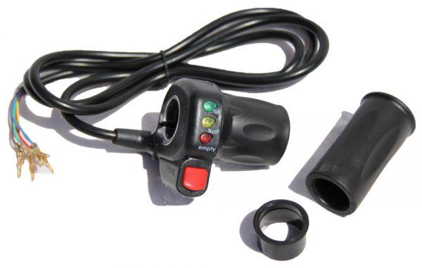 Gasgriff, Drehgasgriff 48V mit ECO Knopf