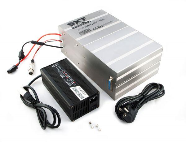 Li-Ion Batterie Lithium Akkupack 48V 30Ah